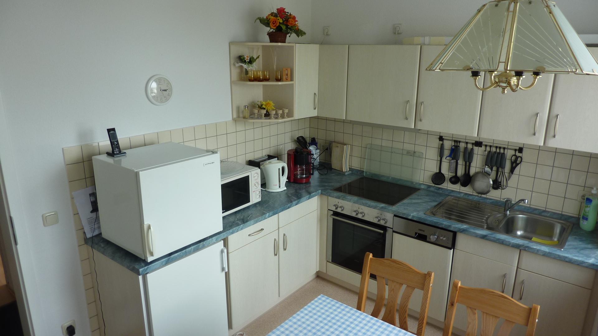 Küche Ostsee Draufsicht 2